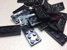 LEGO 2x4 Plates Black LOT OF 25 - NEW - 3020