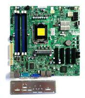 Motherboard X9SCM-F Supermicro Server LGA1155 Single Socket H2 microATX