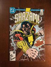SHAZAM NEW BEGINNING # 4 VF DC COMICS 1987 BLACK ADAM