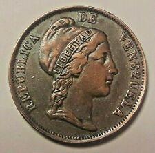 ===>>> VENEZUELA COIN 1 CENTAVO 1852 PATTERN !!! MEDAL !!! <====
