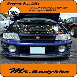 Mr Plastic Front Bumper Lip Spoiler for Subaru Impreza/WRX/STi GC8 1997-2001