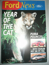 Ford News range brochure 1998 Issue 1