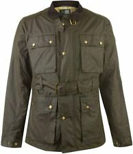 KARRIMOR Mens Green Chatsworth Waxed Unquilted Jacket Coat Various Sizes BNWT
