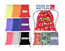 Personalised Drawstring Pump Bag Boys Girls Unisex School PE Sports Backpack UK