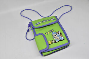 Pokemon Gameboy Color DS Carrying Case Bag Nintendo Blastoise Pikachu Meowth