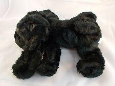 "Chosun Black Puppy Dog Bean Plush 12"" Long"