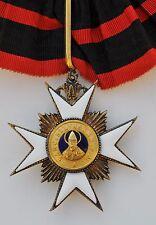 Vatican: Ordre de Saint Sylvestre, croix de commandeur en vermeil