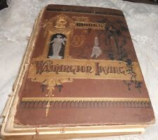 1880 The Works of Washington Irving Pollard Kaateerskill Edition Sleepy Hollow