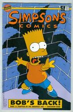 Simpsons Comics #2 VG 1993 Flip Book with Ill fated romance.