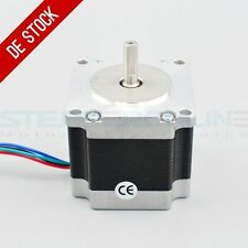 Moteur Pas à Pas Nema 23 Stepper Motor 1.26Nm 2.8A 4-wires 6.35mm Shaft DIY CNC