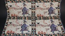 Happy Halloween Debbie Mumm 4 Project Panel Unfinished Tapestry Craft Fabric