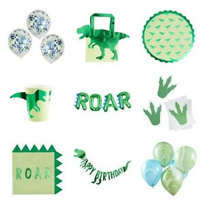 Dinosaur ROAR Birthday Party Tableware
