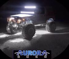 4PCS AURORA ROCK LIGHTS (WHITE) 9W 495 LUMENS EACH CREE LEDS