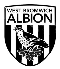 high detail airbrush stencil west brom fc football logo FREE UK POSTAGE