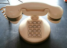 TELEFONO A TASTIERA TELCER TASTI ANNI '80 GOLD PLATED 18K -P2