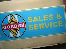 RENAULT GORDINI ventes et service grand atelier garage Signe Autocollant R5 R8 SIMCA