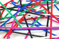 100 Color Pipa limpiadores Chenille Craft tallos Colores Variados 12 Pulgadas / 30cm De Largo