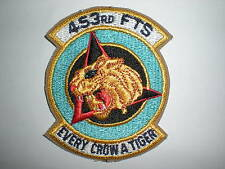 USAF 453RD FLYING TRAINING SQUADRON PATCH WITH TAB -COLOR
