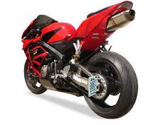 Sport bike Side Mount Spool-mount License Plate bracket