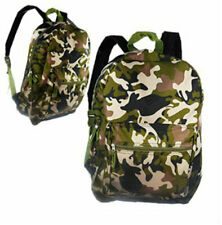 """New 16"""" Camouflage Backpack School Bag Travel"""