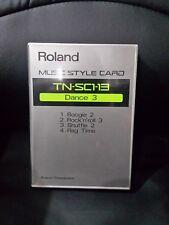 ROLAND  style card for E series  e20 e70 proe e30 e80 e90