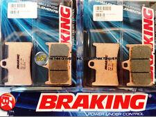 POUR YAMAHA XP T-MAX ABS 500 2010 10 PLAQUETTES DE FREIN AVANT Sintérisés BRAKIN