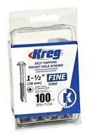 Kreg Pocket-Hole #7 Screw x 1-1/2 Fine (100)