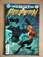 Aquaman #8 Rebirth Middleton Variant Cover First Print Dc Comics (2016)