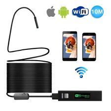 Pipe Inspection Camera Tube Sonde Video Sewer Drain Cleaner Waterproof Wifi 10M