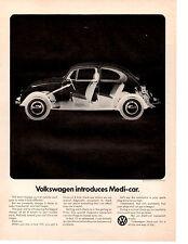 1970 VW / VOLKSWAGEN BEETLE  ~  CLASSIC ORIGINAL PRINT AD