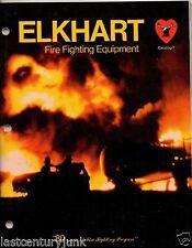 Catalog For Elkhart  Fire Fighting Equipment Catalog T  c 82