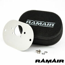 RAMAIR Carb Air Filters With Baseplate SU HIF6, HIF44 1.7in 40mm Bolt On