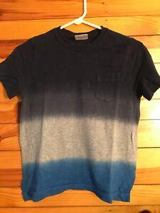Hanna Andersson Color Block Shirt Boys EUC Size 130 8