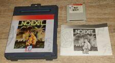 """JEU,""""NO EXIT"""",1990,OCEAN, TOMAHAWK,AMSTRAD GX 4000, AMSTRAD CPC 6128 plus,+"""