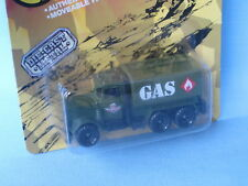Matchbox Commando Peterbilt Gas Petrol Tanker Army in Blister Pack