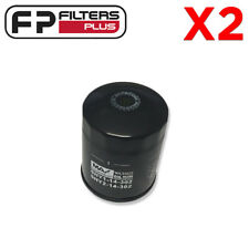 2 x WCO222 Wesfil Oil Filter - Mazda CX-5 2.2L T/Diesel 2012 Onward - Z1035