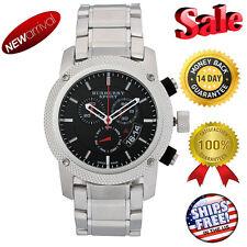 Brand New Burberry Men's BU7702 Heritage Black Chronograph Dial Bracelet Watch