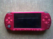 Sony PSP 3000 Radiant Red w/ offical extended battery + extras