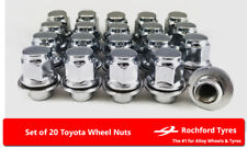 Original Style Wheel Nuts (20) 12x1.5 Nuts for TOYOTA PRIUS [mk3] 09-15
