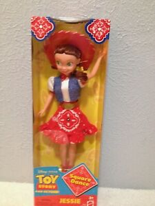 TOY STORY AND BEYOND JESSIE DOLL SQUARE DANCE JESSIE NIB