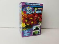 Flower Rocket, Gardening Summer Bouquet Flower Mix, Over 500 Seeds, (New)