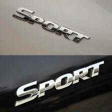 3D Sport Logo Emblem Badge Stickers Metal Auto Car Racing Logo Decal Accessories