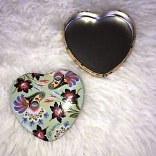 BRIGHTON Heart Shape Jewelry TIN Trinket Gift Box for Charms Necklaces Bracelets