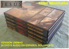 SERIE DE JESUS - (Brazileña) - Audio Español - 26DVDS - COMPLETA