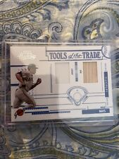2005 Playoff Absolute Tott Baseball: Willie Mays Jersey/Bats 84/150