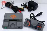 [TESTED] PC Engine Core Grafx II Game Console w/ Pad and Accessories from Japan