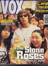 Vox December 1995 Charles Manson Brian Wilson Stone Roses