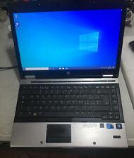 NOTEBOOK HP ELITEBOOK 8440P INTEL i5 4gb RAM 250GB  W10 PRO