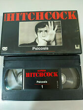 Psicosis Alfred Hitchcock - Pelicula VHS Castellano