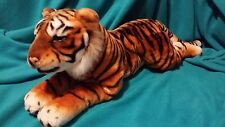 "Beautiful Large Plush Bengal Tiger 29"" Big Cat Stuffed Jungle Animal Realistic"